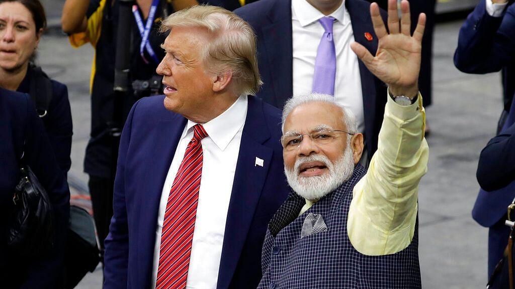 PM Modi with US President Donald Trump.