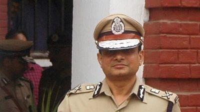Former Kolkata Police Commissioner Rajeev Kumar, presently posted as ADG (CID) in the West Bengal Police.