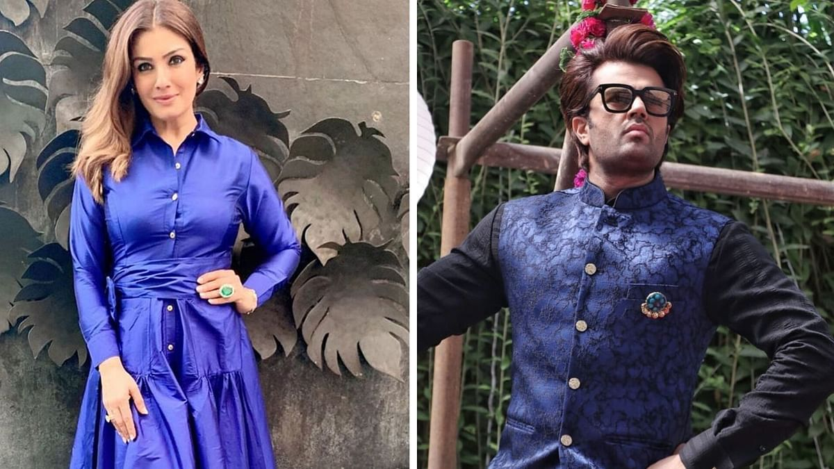 Spat Between Raveena Tandon and Maniesh Paul on Nach Baliye Sets?