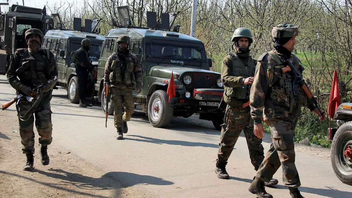 Terrorist Killed in Encounter With  Forces in J&K's Ganderbal