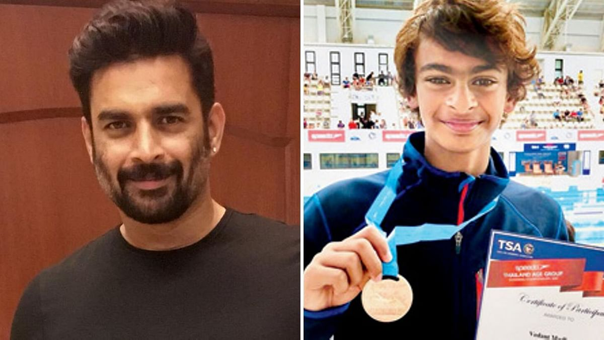 R Madhavan's Son Wins Silver at Asian Age Group Swimming C'ship