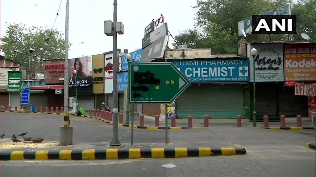 A team of the NDMC, which is responsible for the upkeep of the road, later restored the signage.
