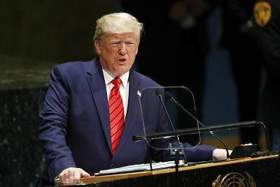 Told India, Pak leaders to 'just work it out': Trump