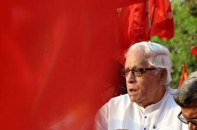 CPI-M leader Buddhadeb Bhattacharjee. (File Photo: Kuntal Chakrabarty/IANS)