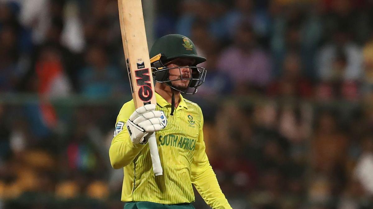 Quinton De Kock Replaces Du Plessis as South Africa's ODI Captain