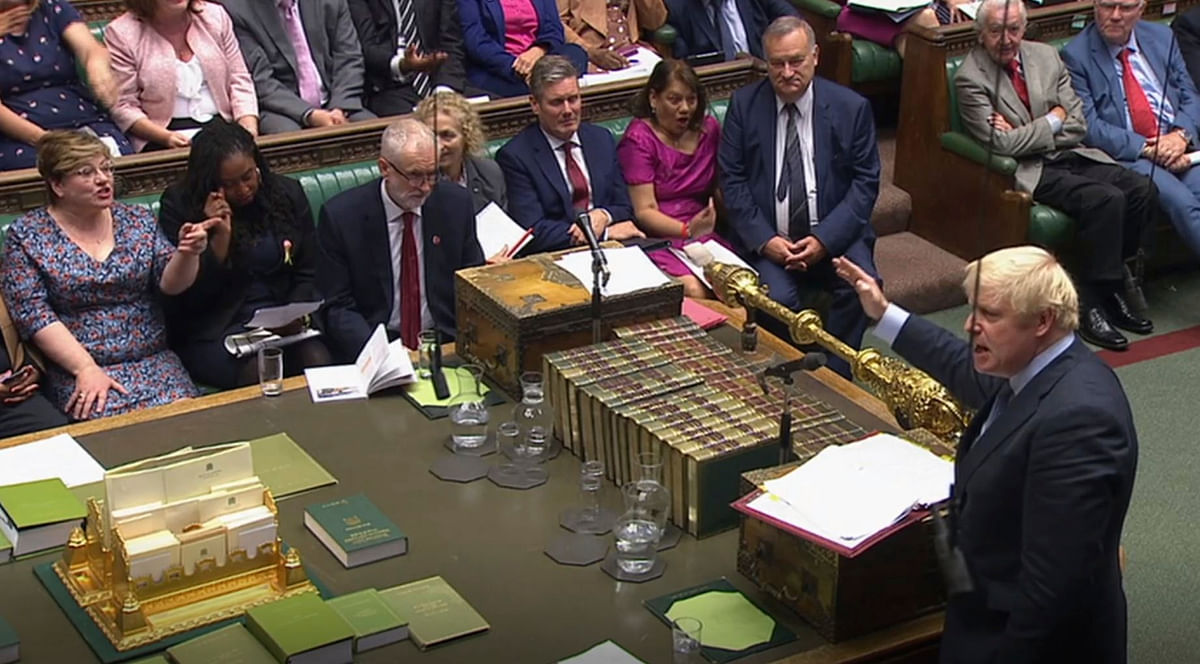 Parliament delivered Johnson his third defeat in two days and turned down a motion triggering a vote.