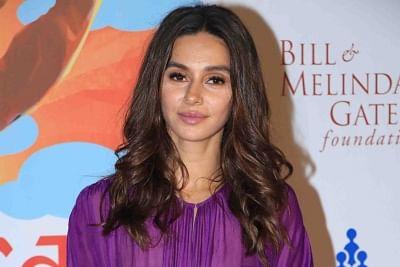 Actress Shibani Dandekar. (Photo: IANS)