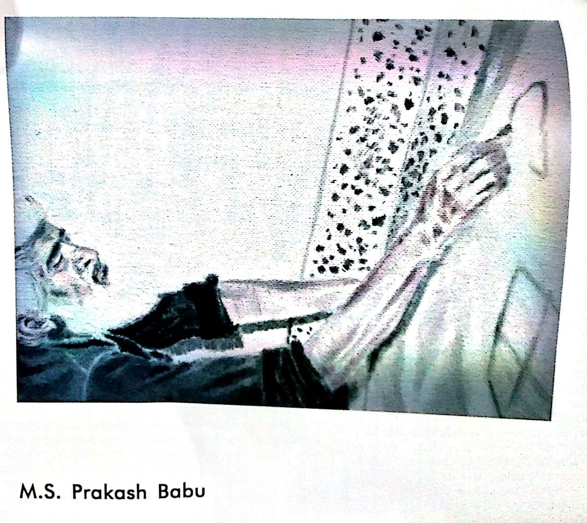 Painting by MS Prakash Prabhu.
