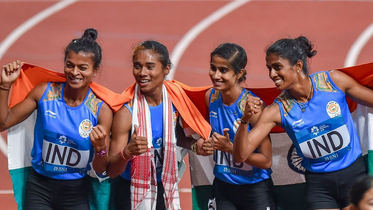 Hima Das Named in World C'ships Squad Only as Relay Runner