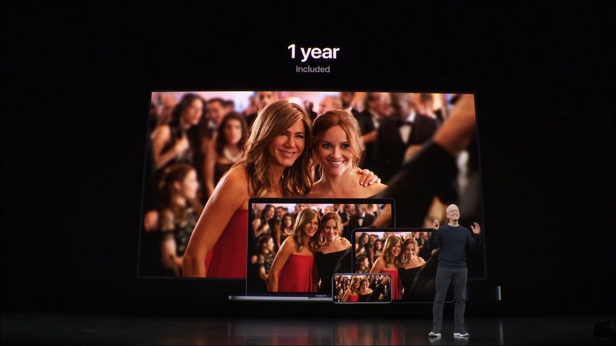 Free Apple TV+ for iPhone, iPad or MacBook buyers for one year.