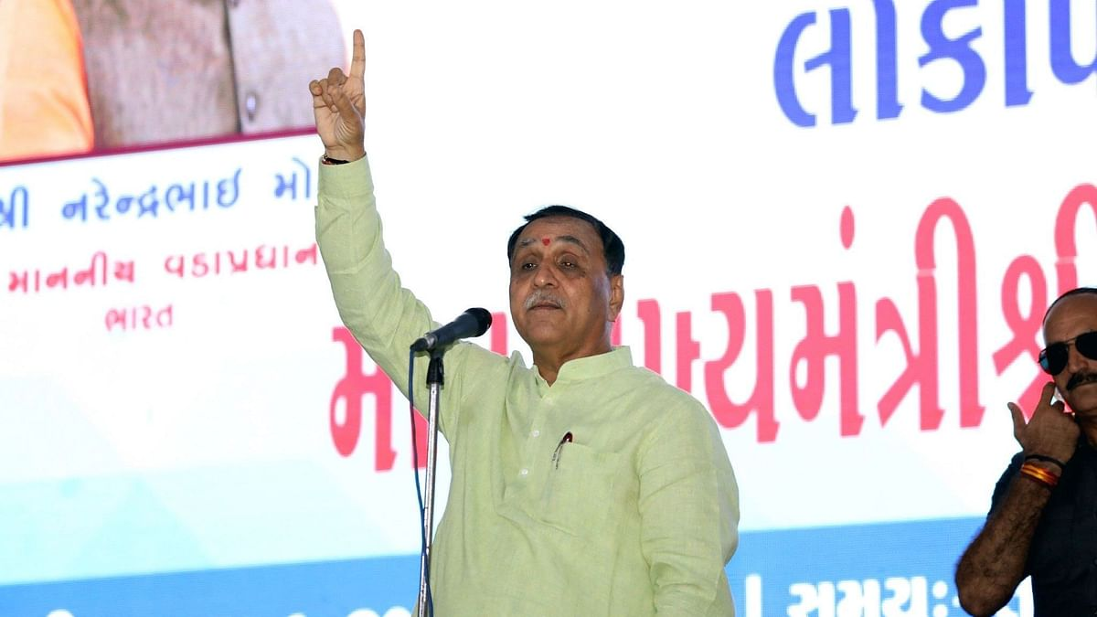 """Vijay Rupani also said that his government will give """"special"""" approvals for the construction of iconic skyscrapers in the four large cities of Gujarat"""
