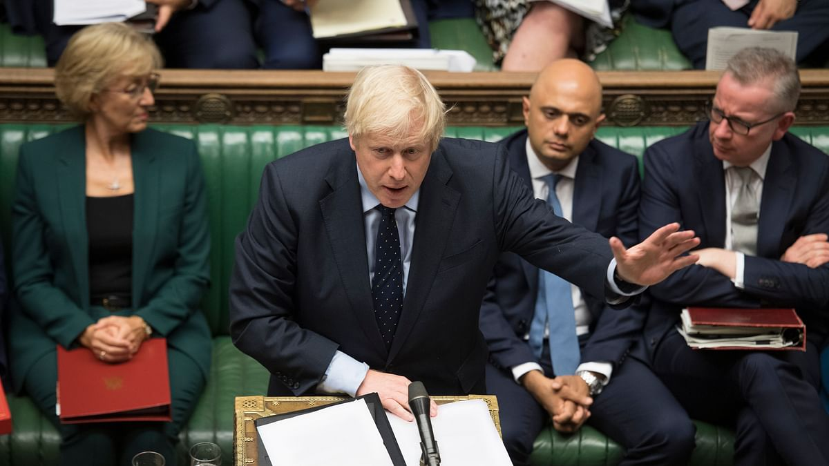 Britain's Prime Minister Boris Johnson ordered a month-long suspension of the parliament.