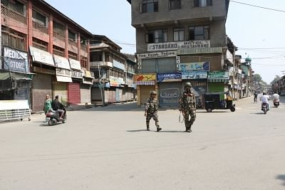 The Centre on Monday told the Supreme Court that not a single bullet had been fired and not a single life had been lost after the abrogation of Article 370 that accorded special status to Jammu and Kashmir, and the region is moving towards a stage when no restrictions may be necessary. (Photo: IANS)