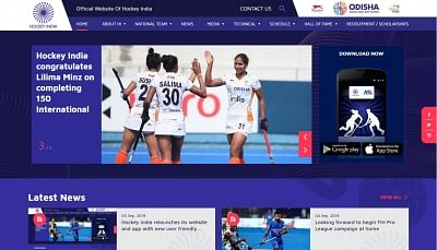 Hockey India has revamped its website and app with a new user-friendly features. The website will be a one-stop shop for all the Indian Hockey fans. From the latest news to match updates to player statistics - the fans can stay up to date about Indian hockey.