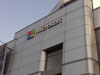 Microsoft. (File Photo: IANS)