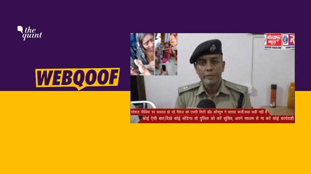 UP Cop Warns Public About Child Lifters? No, Video Has Been Edited