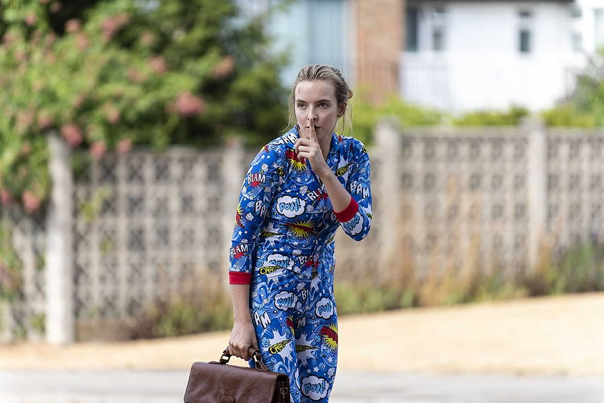 Jodie Comer in <i>Killing Eve.</i>