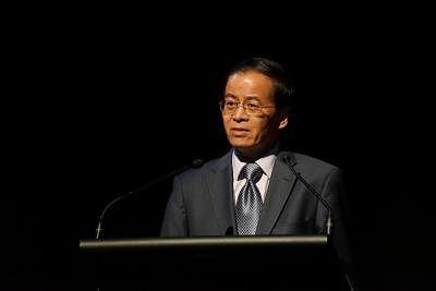 Cheng Jingye. (Xinhua/Huang Xiangyu/IANS)