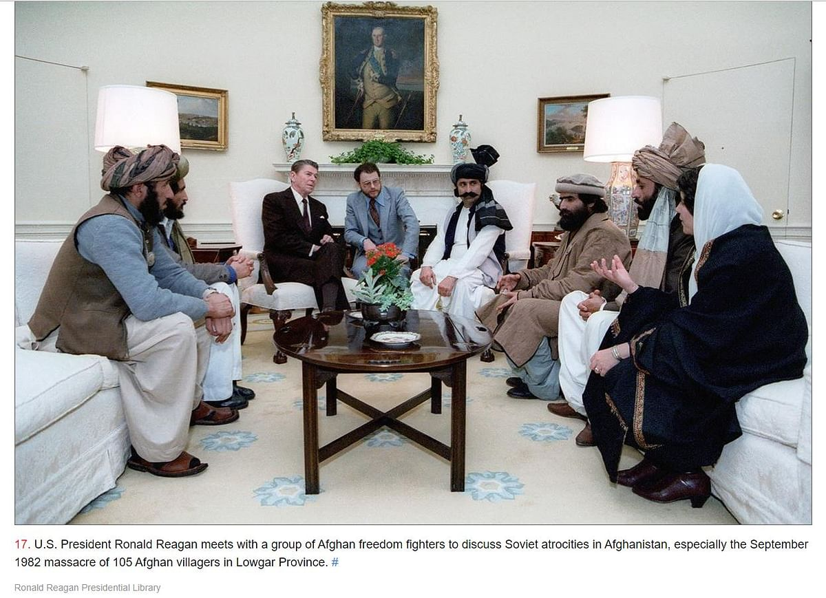 Pak PM Falls for Reagan-Mujahideen-US Founding Fathers Misquote