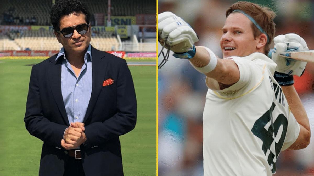 Sachin Tendulkar showered praises on Steve Smith who is having a brilliant run of form in the Ashes series.