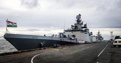 Sihanoukville: As part of Indian Navy