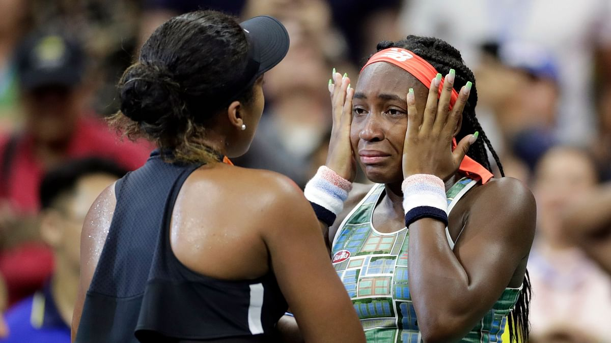 Naomi Osaka's Gesture After Beating Coco Gauff is Winning Hearts