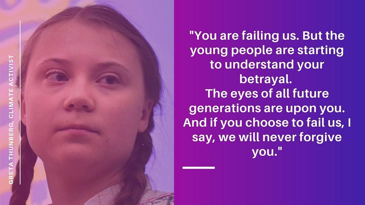 'You Failed Us': Greta Thunberg's Moving Plea at UN Climate Summit