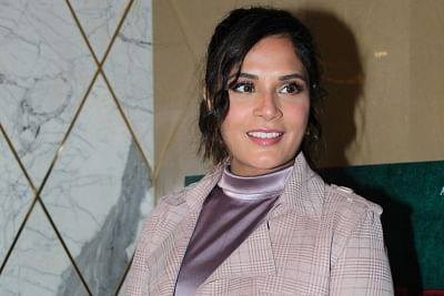 "Mumbai: Actress Richa Chadha at the trailer launch of her upcoming film ""Section 375"" in Mumbai on Aug 13, 2019. (Photo: IANS)"