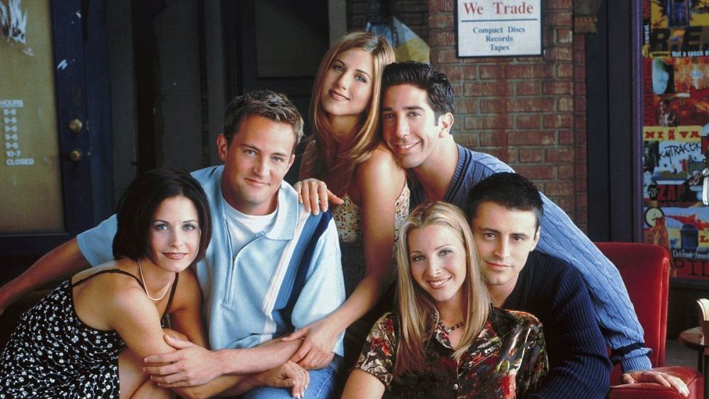 The cast of <i>Friends </i>seen together.
