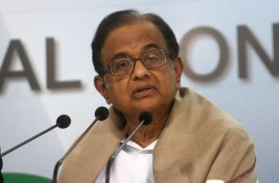 New Delhi: Congress leader P. Chidambaram addresses a press conference in New Delhi on Feb 1, 2018. (Photo: IANS)