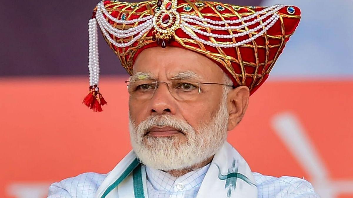 Prime Minister Narendra Modi at Nashik on Thursday.