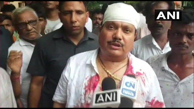 Bengal MP Arjun Singh Claims Cop Attacked Him, BJP Calls for Bandh