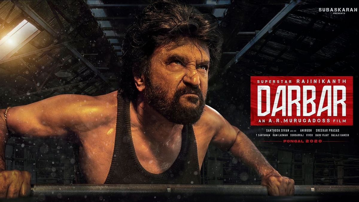 Rajinikanth Displays His Strength in New 'Darbar' Poster