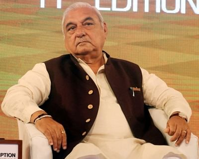 Bhupinder Singh Hooda. (File Photo: IANS)