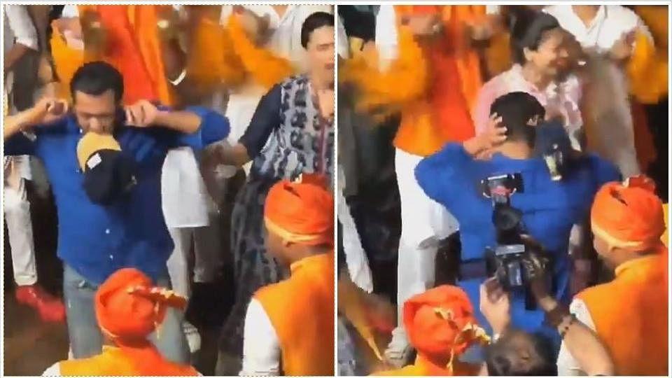 Salman, Swara, Daisy Shake A Leg at Arpita Khan's Ganpati Visarjan
