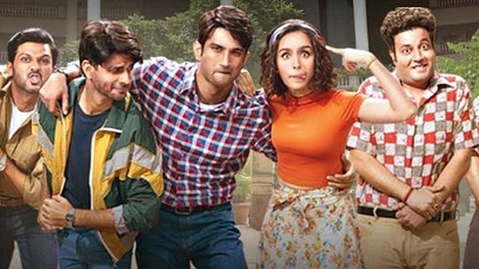 A still from <i>Chhichhore</i>.