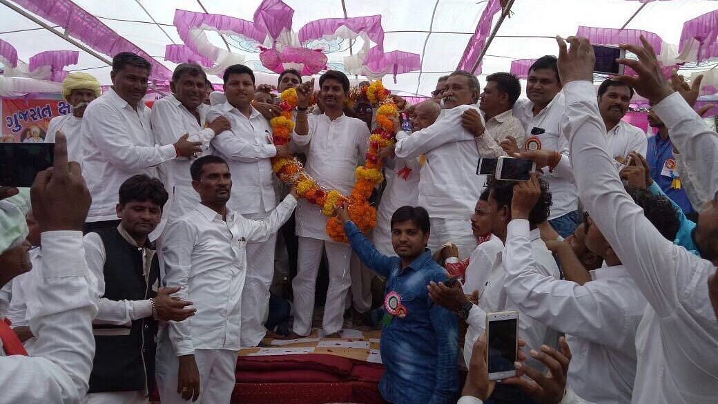 Alpesh Thakor defected from the Congress and joined the BJP in Gujarat