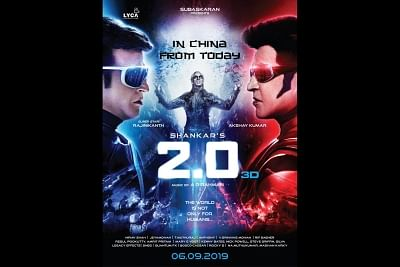 "The blockbuster ""2.0"" starring Rajinikanth and Akshay Kumar, hit the screens in China across 48,000 screens in the country. (Photo: Twitter/@akshaykumar)"