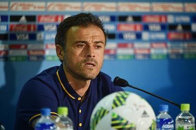 Former Barcelona coach Luis Enrique.