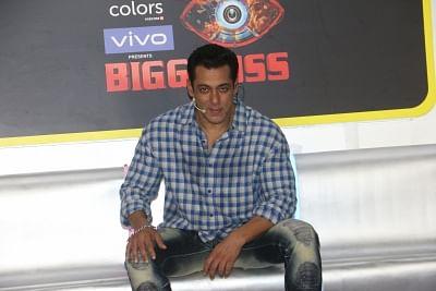 "Mumbai: Actor Salman Khan at the launch of ""Big Boss"" in Andheri, Mumbai on Sep 23, 2019. (Photo: IANS)"