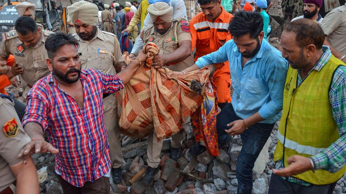 23 Dead in Punjab Firecracker Factory Blast; PM Condoles Tragedy