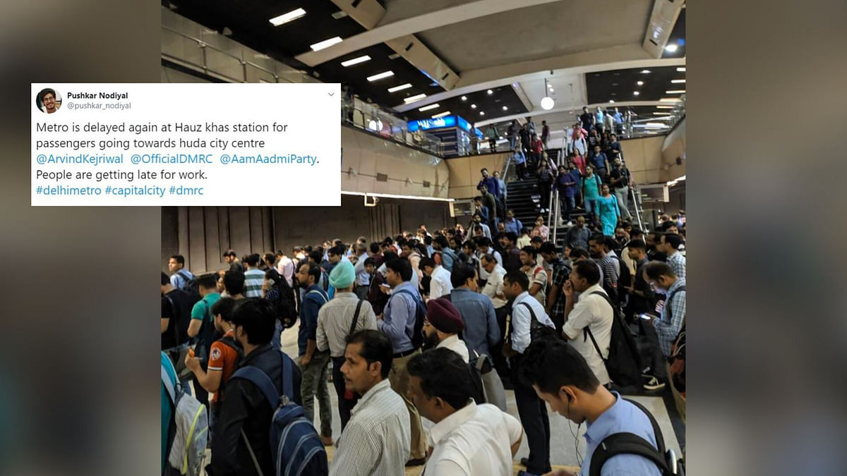 Twitter Abuzz After  Delhi Metro's Yellow Line Slowdown, Again!