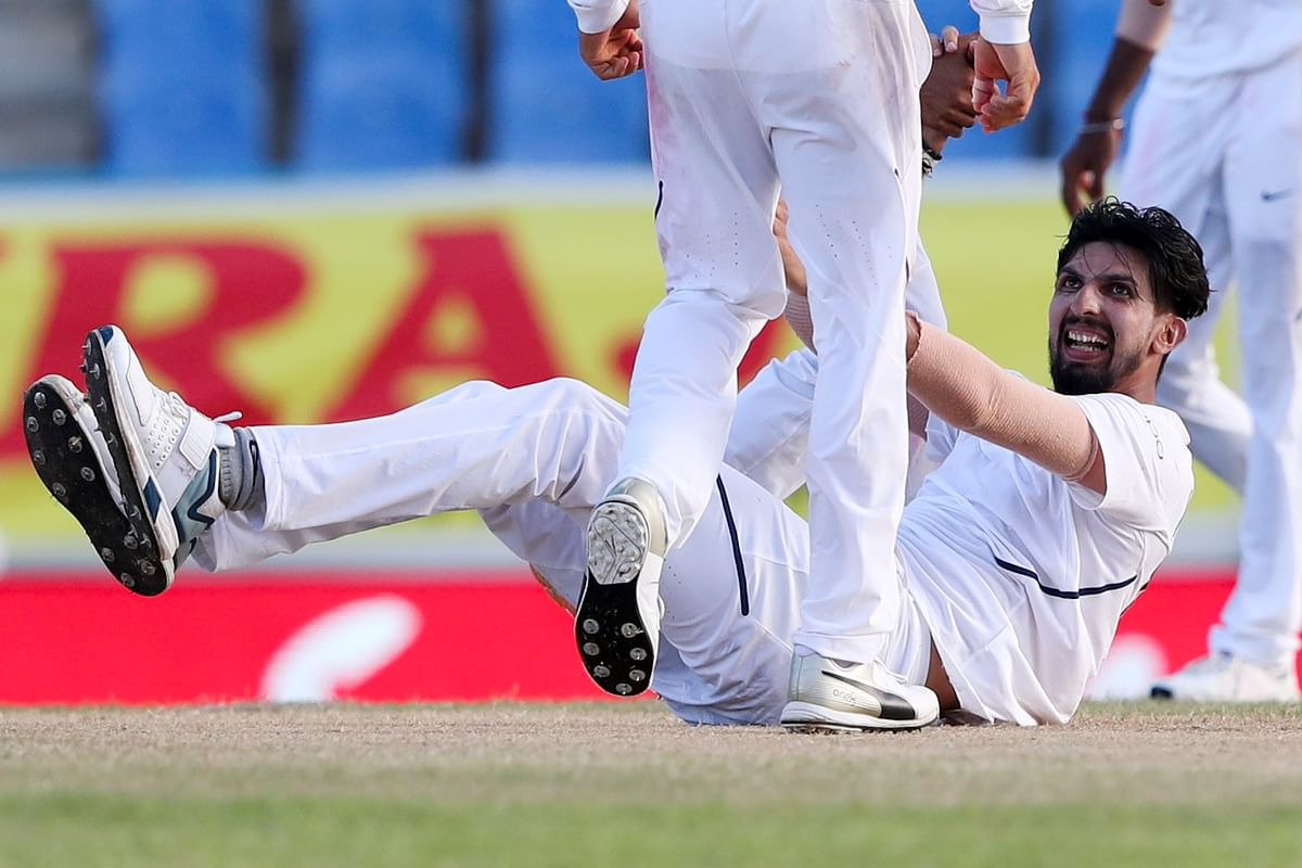 Most importantly, Ishant Sharma is batting, bowling and fielding with passion.