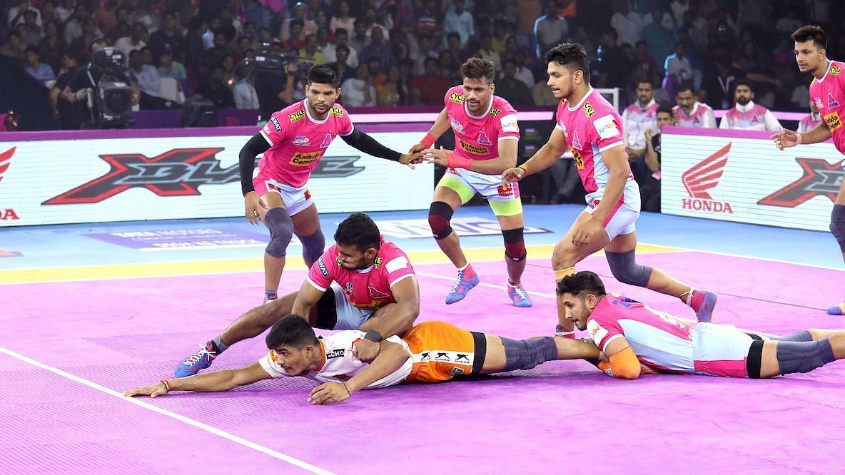Pro Kabaddi: Pink Panthers Breeze Past Puneri Paltan 43-34