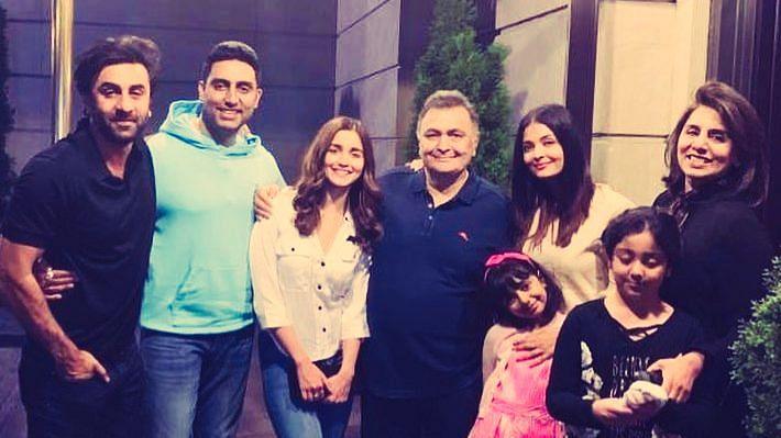 In Pics: Bollywood Celebs Who Kept up Rishi Kapoor's Spirits in NY