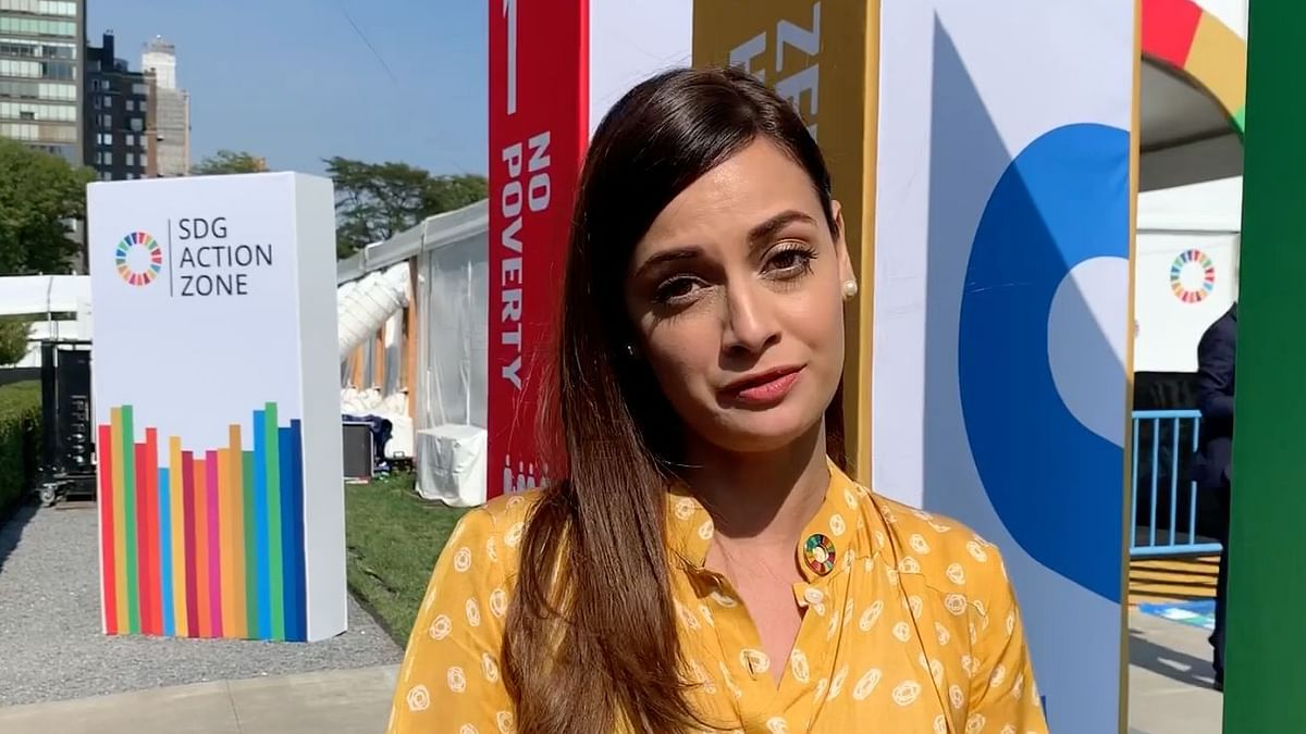 Exclusive: Dia Mirza Vlogs From UN Climate Action Summit