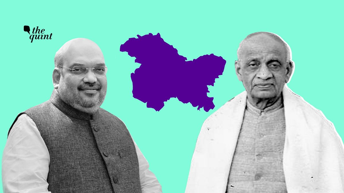 Union Home Minister Amit Shah stated that the issue of Kashmir should have been handled by Sardar Patel instead of former PM Jawaharlal Nehru.
