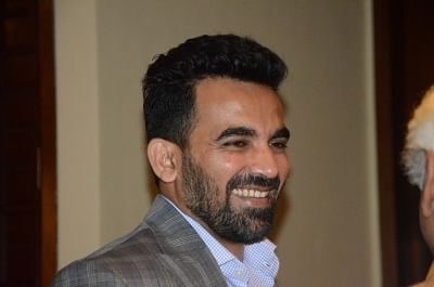 Zaheer Khan. (Photo IANS)