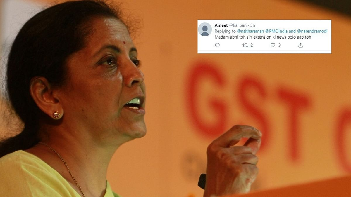 Sitharaman's Social Media Bombarded With Tax Audit Extension Pleas