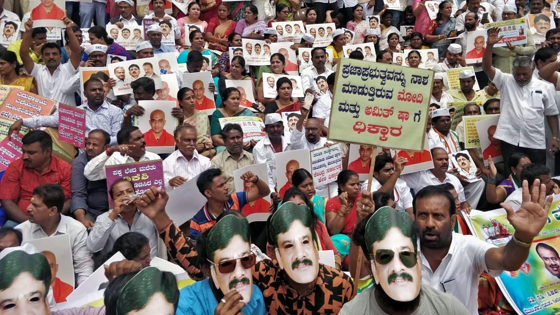 Why Vokkaligas Protesting Shivakumar's Arrest Should Worry BJP